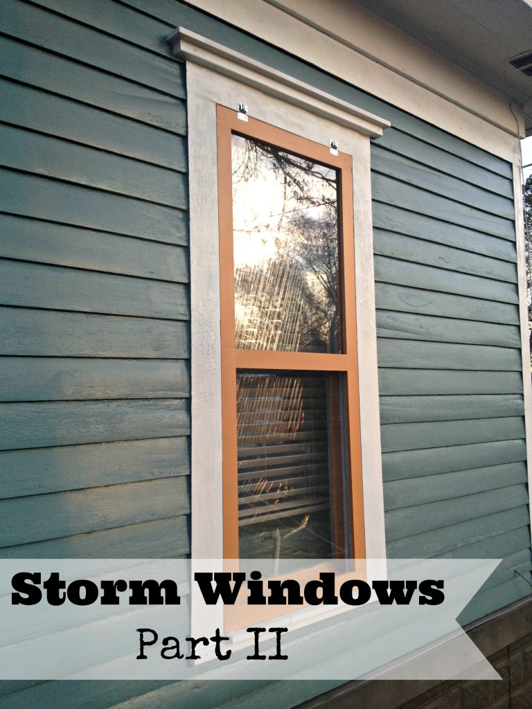 Storm Windows Part Ii Upcycled Ugly