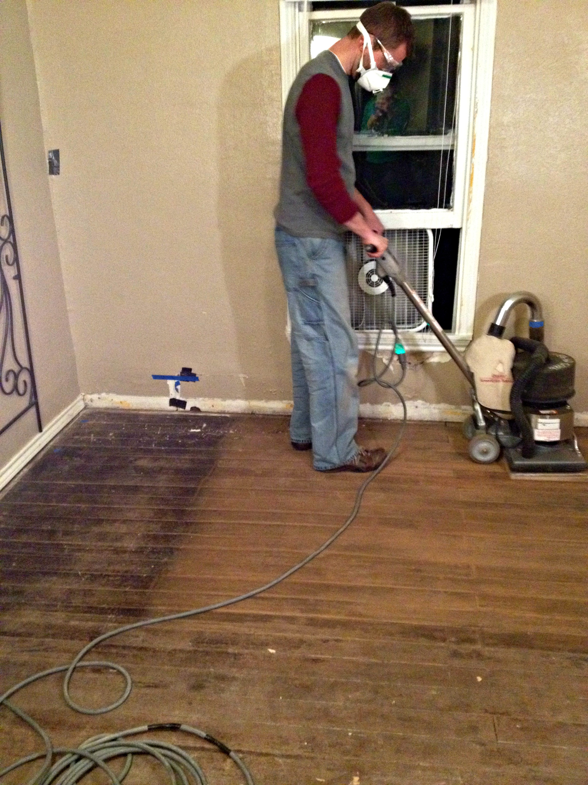 Floor Sanding 101 The Idiot S Guide Upcycled Ugly