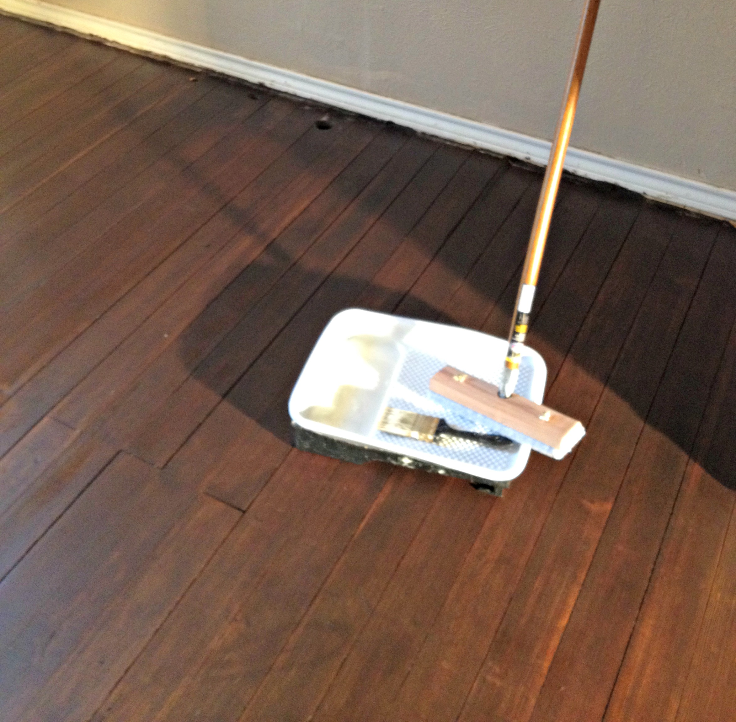 Floor Finishing Chronicles Of Two Diyers Upcycled Ugly