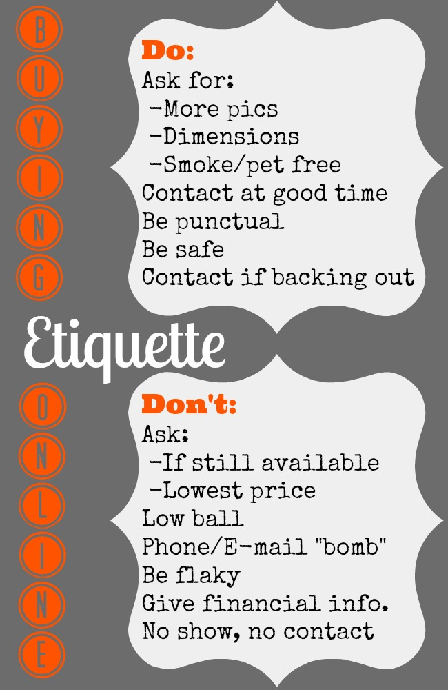 online etiquette Click here to watch the tedtalk that inspired this post when i saw that gary had called, i was thrilled since going on one matchcom date, i'd awaited his missives.